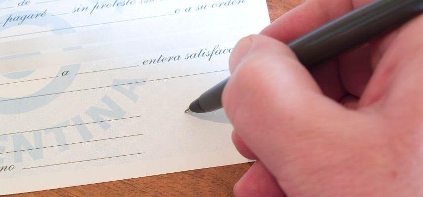 podpisywanie weksla