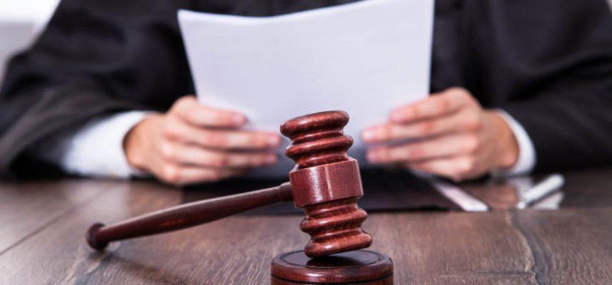 adwokat czytający dokumenty