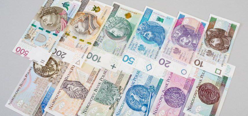 dużo różnych banknotów